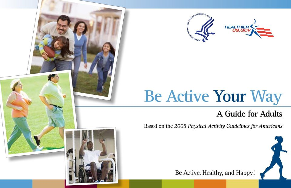 Physical Activity Guidelines for