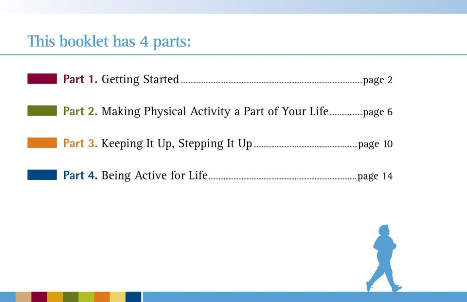 Making Physical Activity a Part of Your Life.