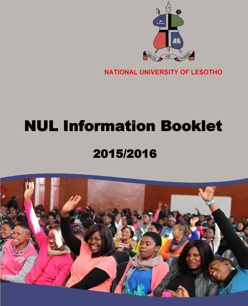 What should a good informative booklet have in it?