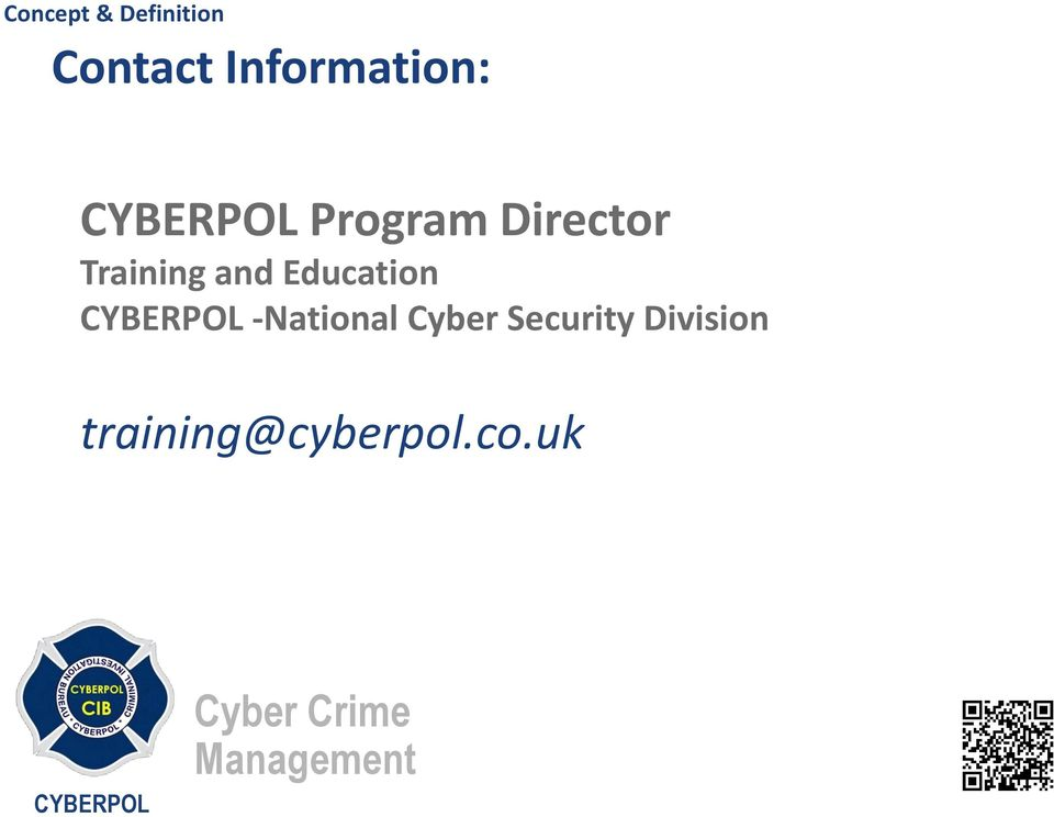 Education -National Cyber
