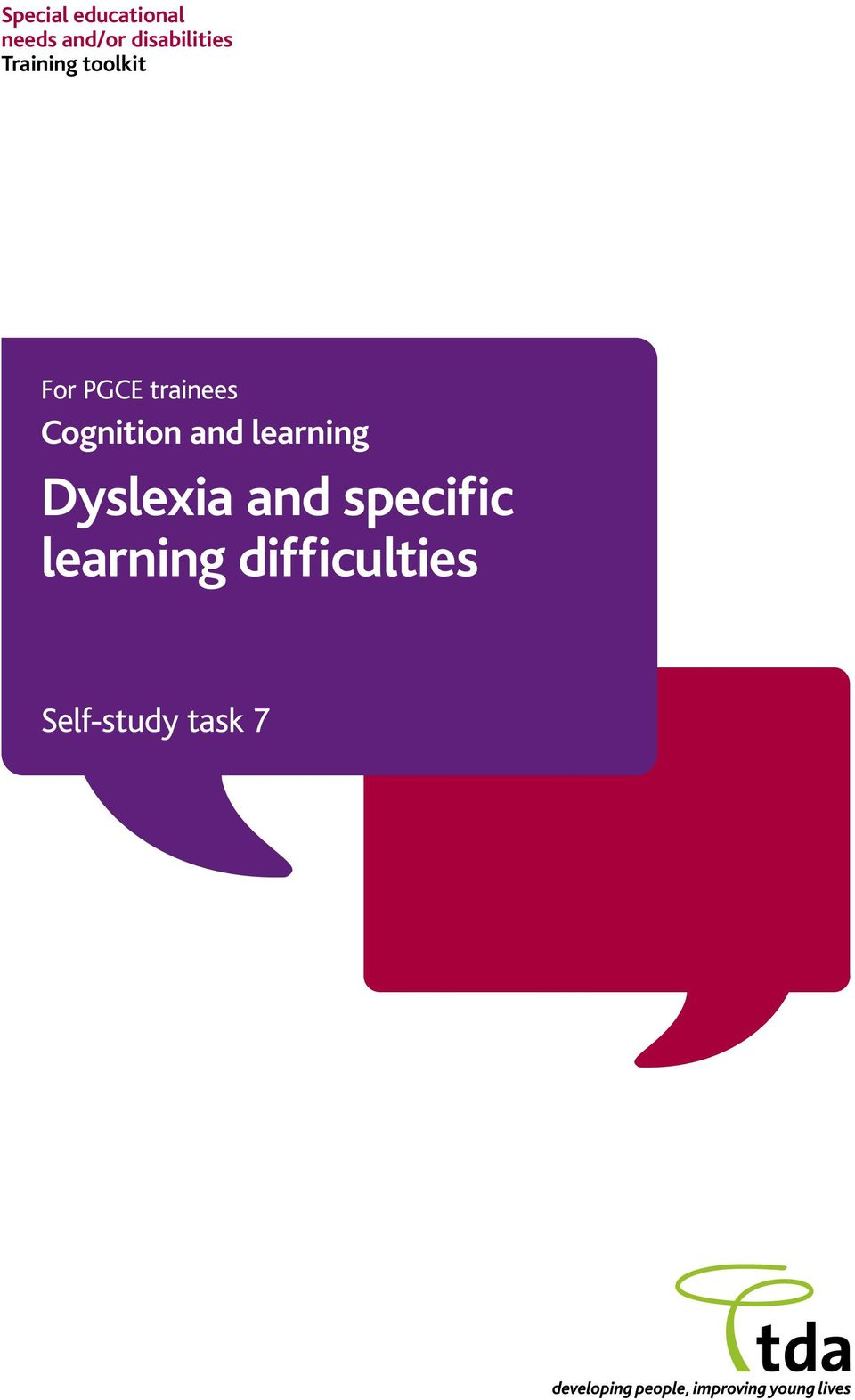 trainees Cognition and learning Dyslexia