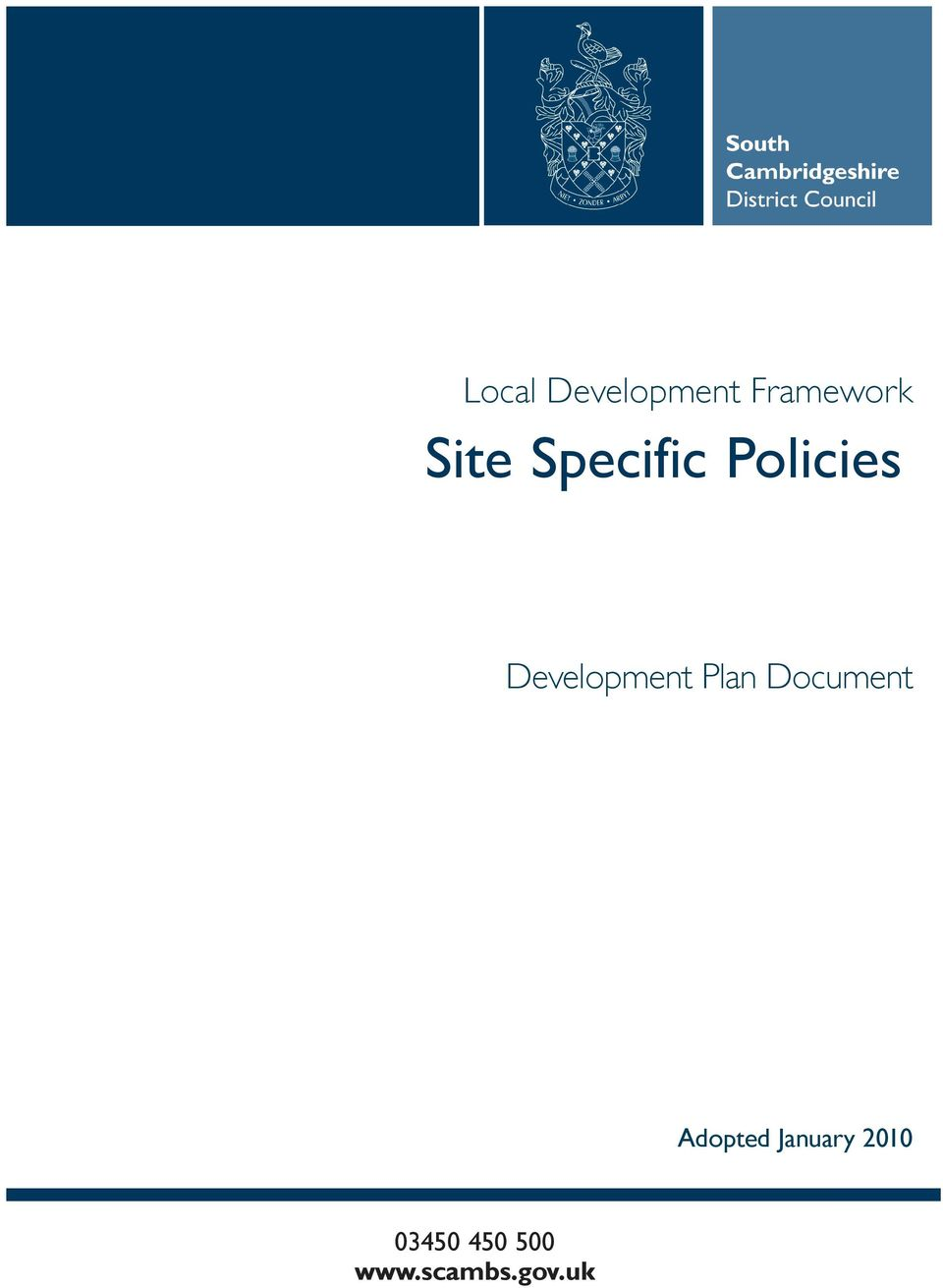 Policies Development Plan
