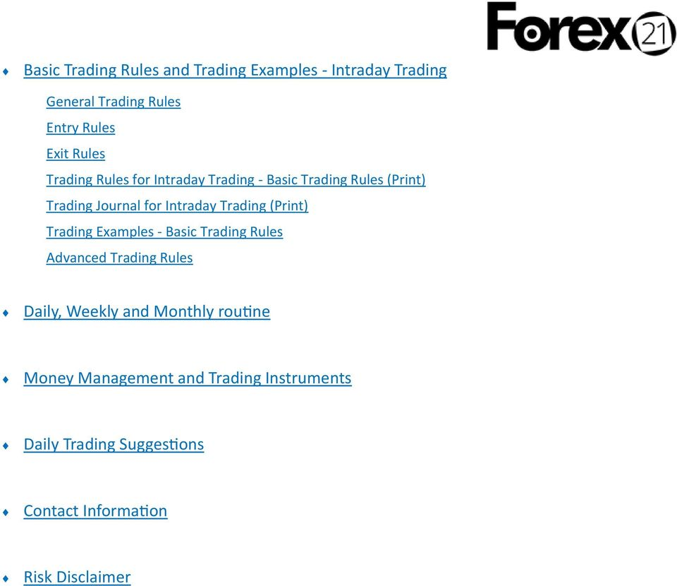 Semi automated forex trading