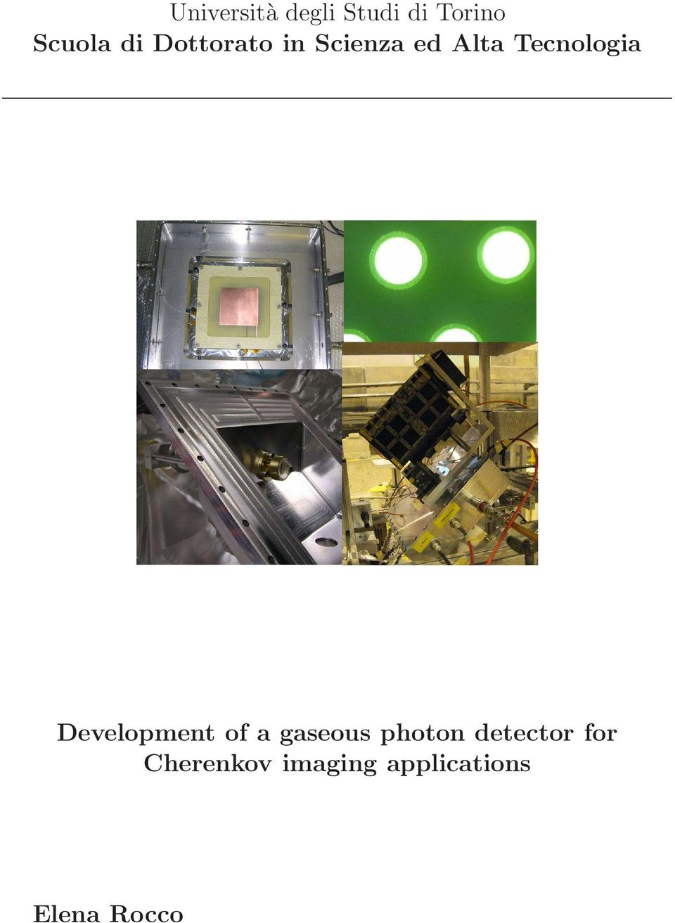 Development of a gaseous photon detector