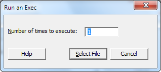 Using Session Commands 1. Choose Window > Project Manager. 2. Click the History folder. 3. Click CAPABILITY 'Days' 'Date';, press Shift, and then click USPEC 6. 4.