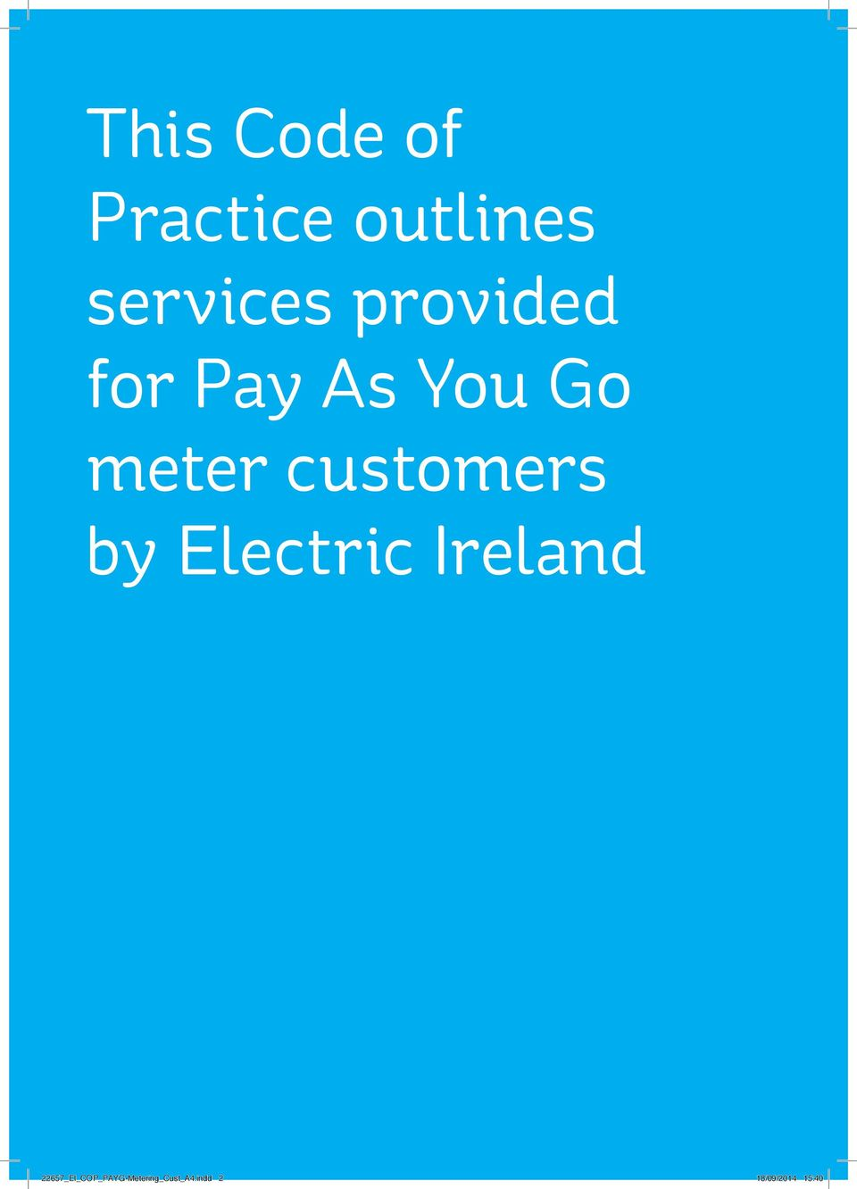 customers by Electric Ireland