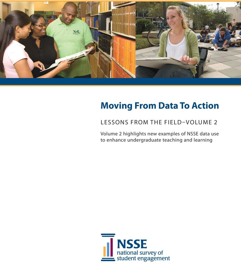 highlights new examples of NSSE data