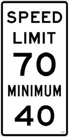 safely driven at those speeds under all conditions. The speed limit is the maximum allowable speed in ideal conditions.