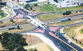 An interchange can be confusing if you have not driven on it before.