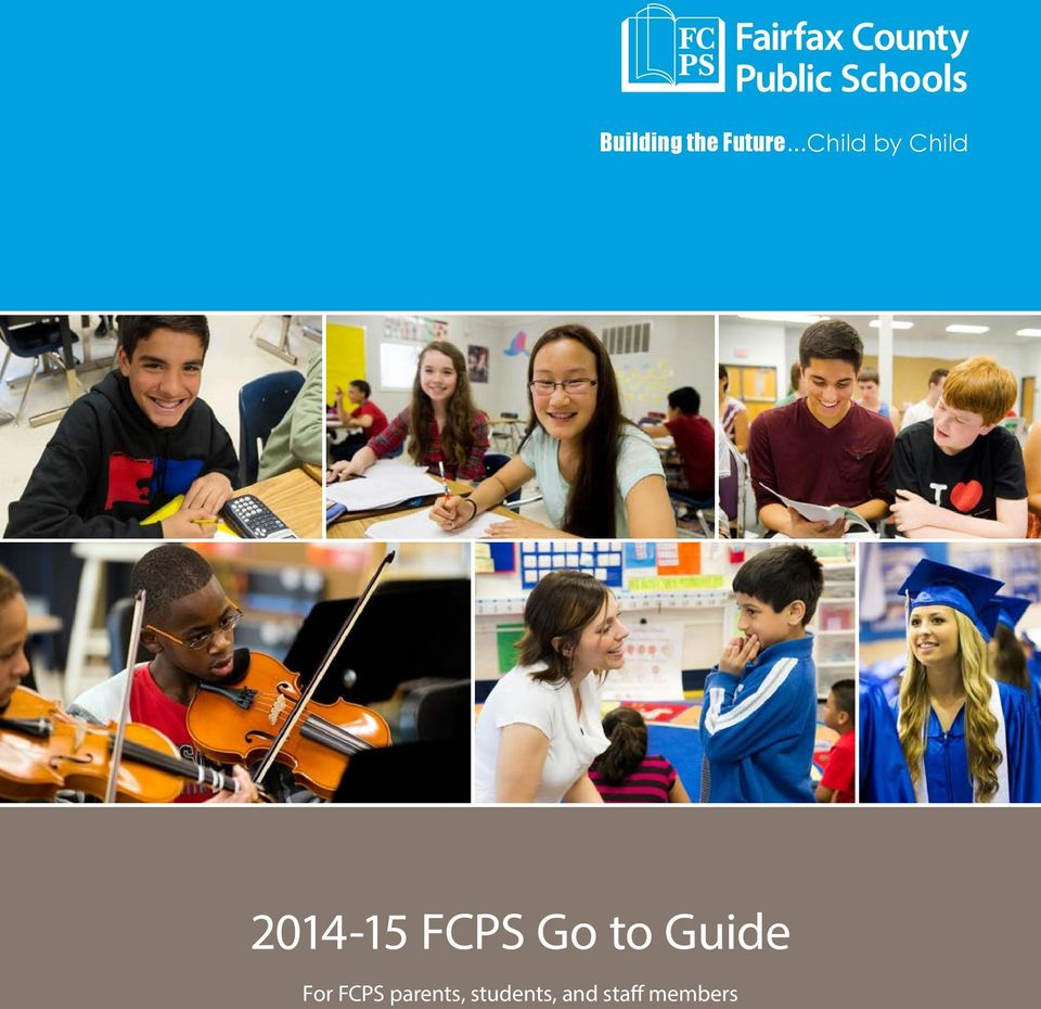 FCPS Go to Guide For FCPS