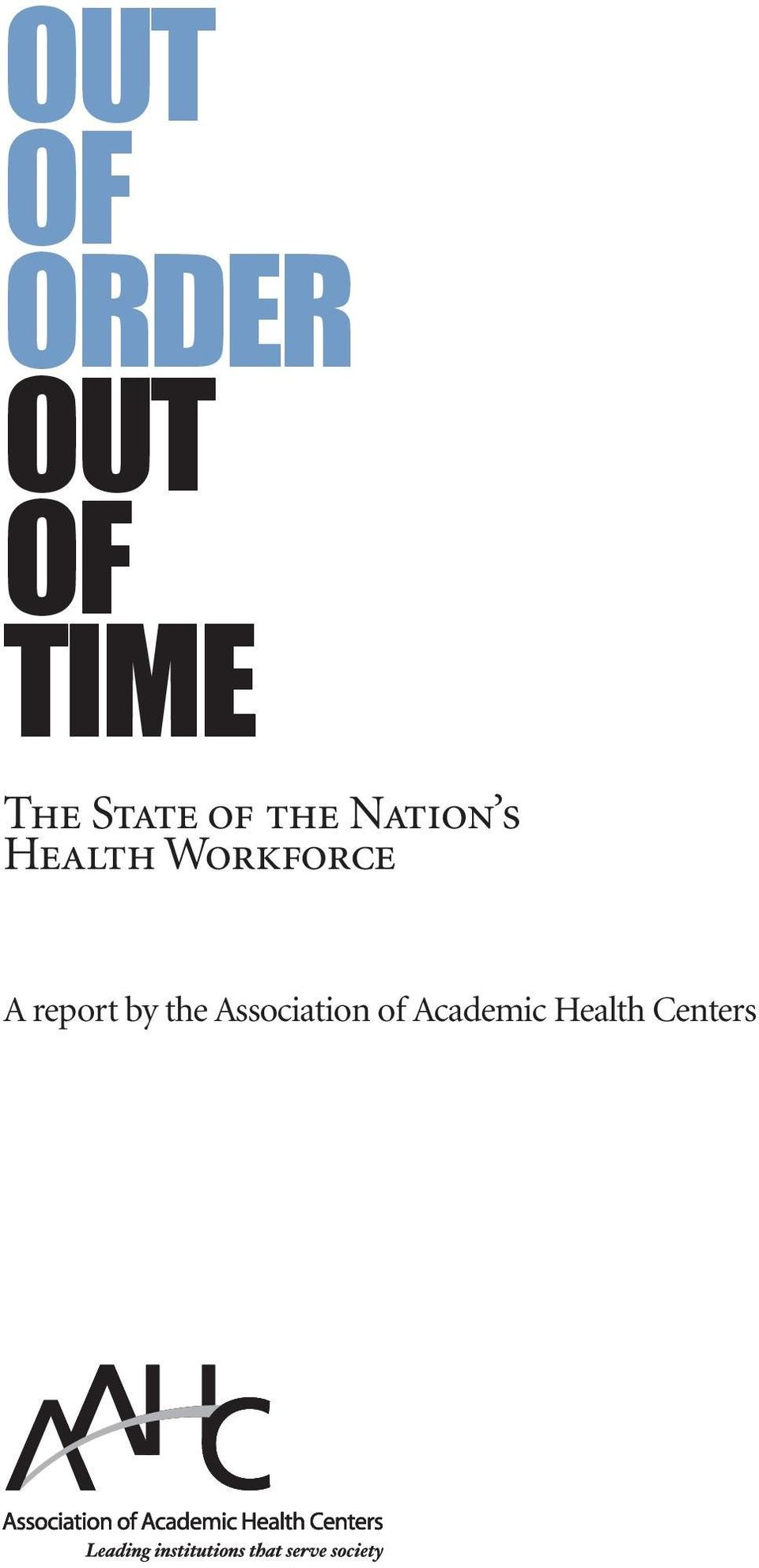 Workforce A report by the