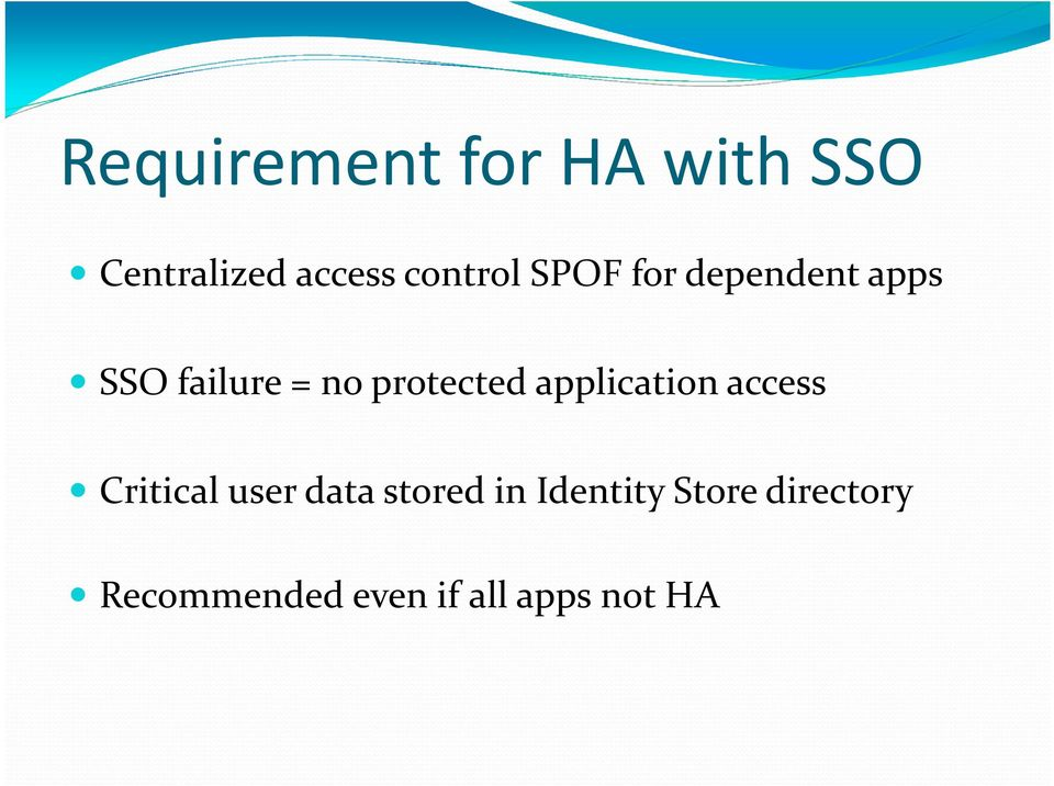 protected application access Critical user data