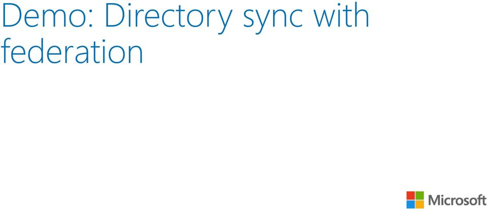 sync with
