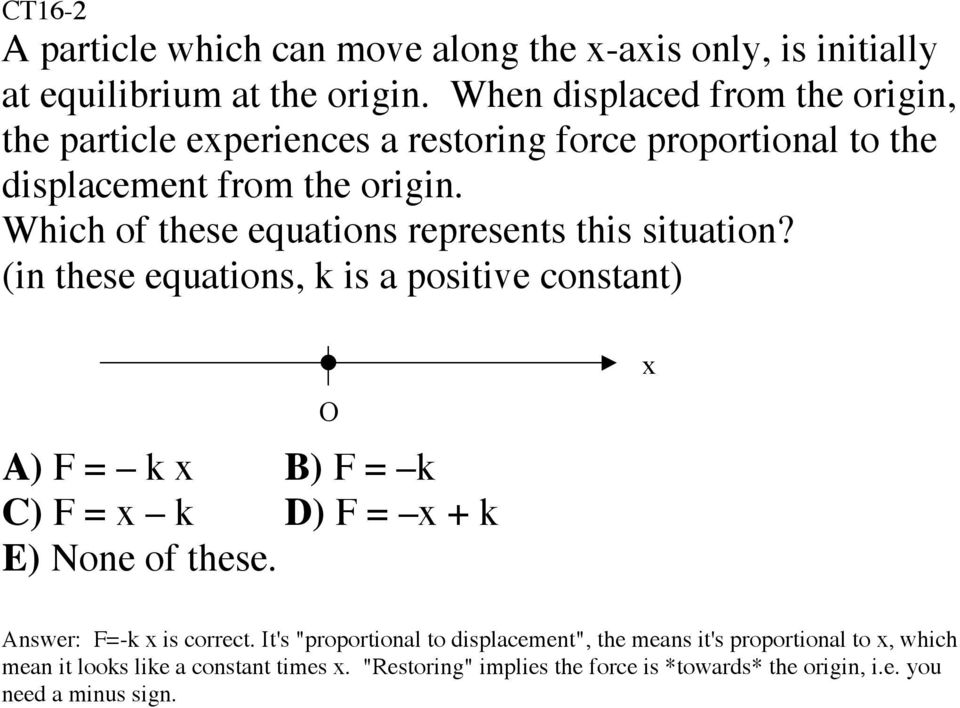 Which of these equations represents this situation?