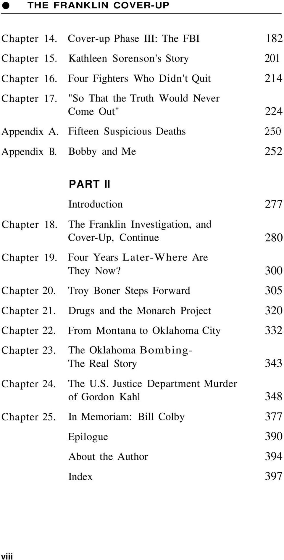 Chapter 18. Chapter 19. Chapter 20. Chapter 21. Chapter 22. Chapter 23. Chapter 24. Chapter 25.