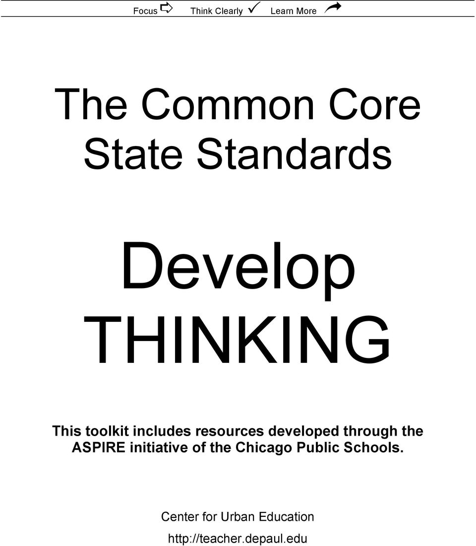 the ASPIRE initiative of the Chicago Public