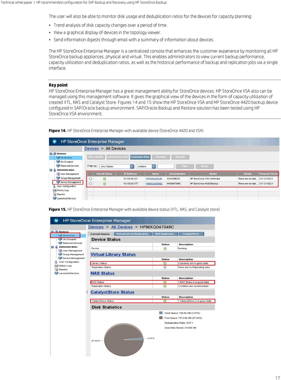 Hp Recommended Configuration For Sap Backup And Recovery