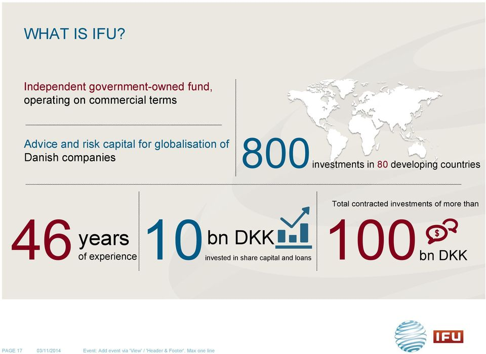 globalisation of 800 Danish companies investments in 80 developing countries 46 of years