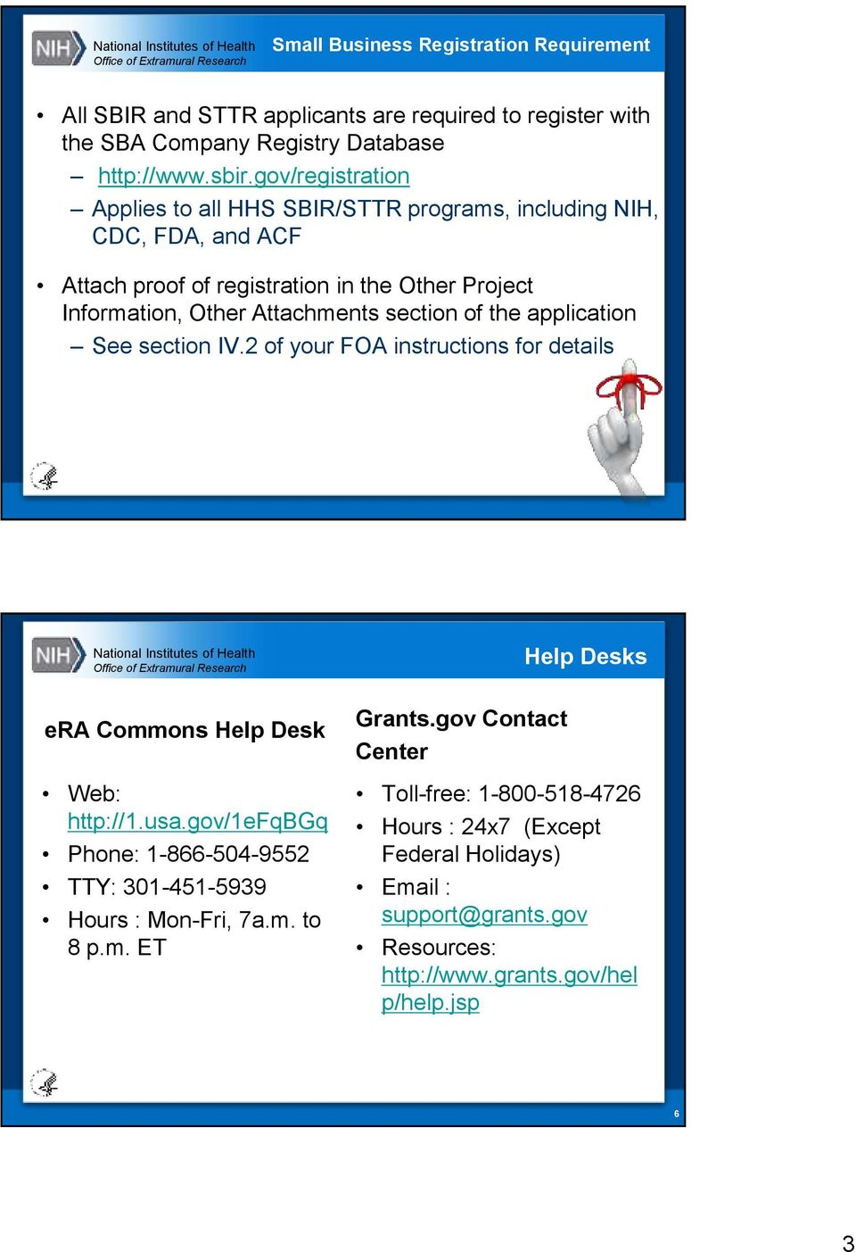 Lovely Gov/registration Applies To All HHS SBIR/STTR Programs, Including NIH, CDC Pictures Gallery