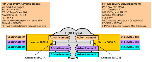 Introduction to Fibre Channel over Ethernet The Available for ELP bit will need to be set to 1 in order for FIP to proceed to the next phase (FIP Advertisement).