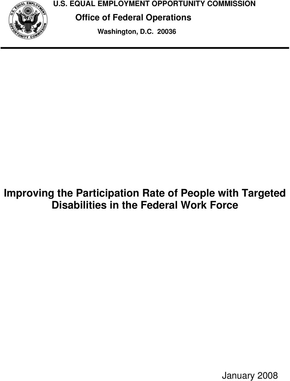 20036 Improving the Participation Rate of People