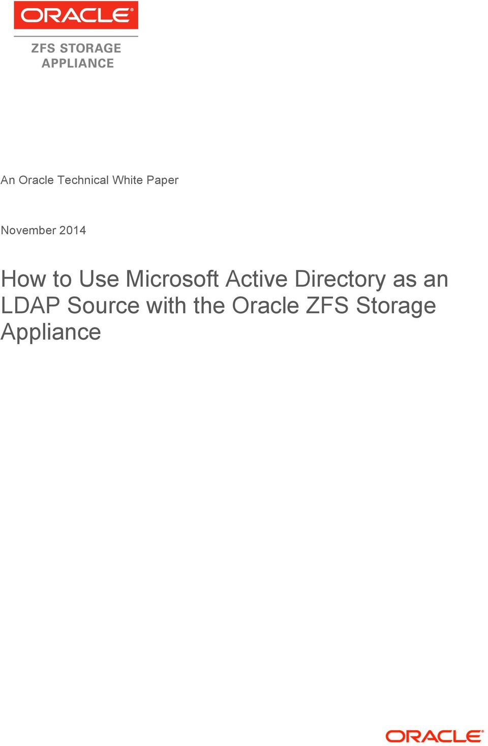 Active Directory as an LDAP Source