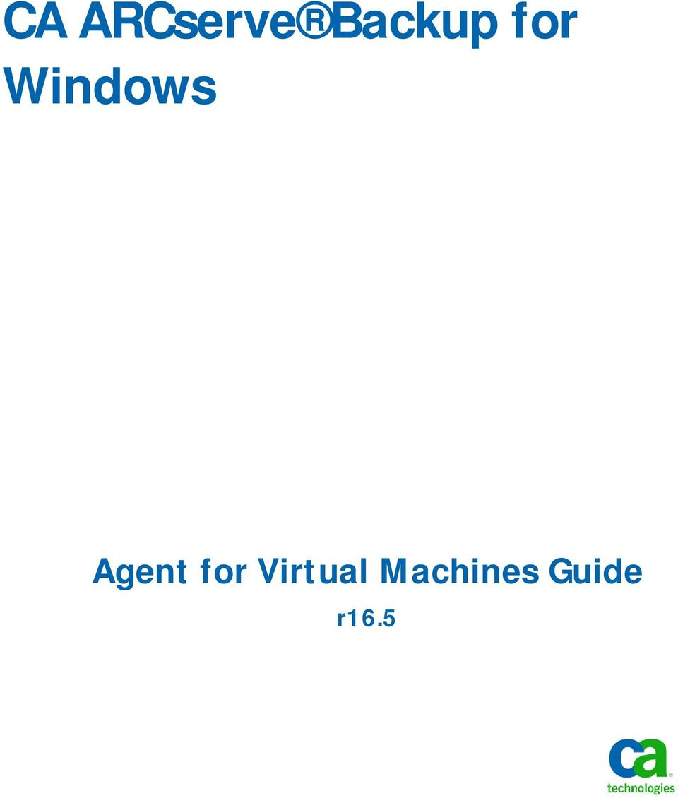 Windows Agent for