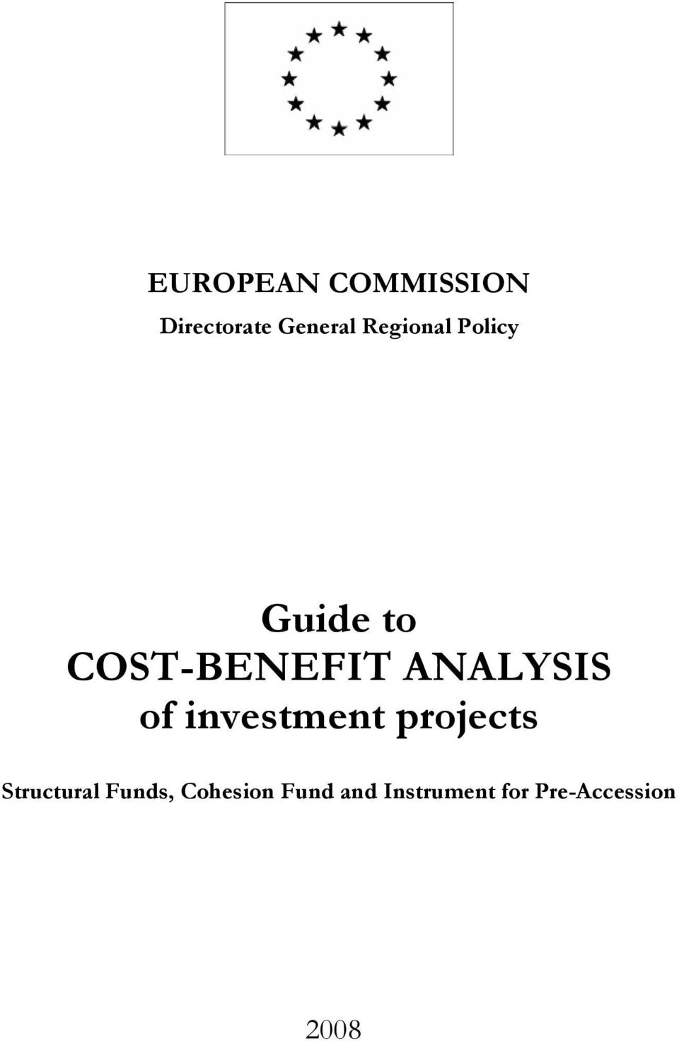 ANALYSIS of investment projects Structural