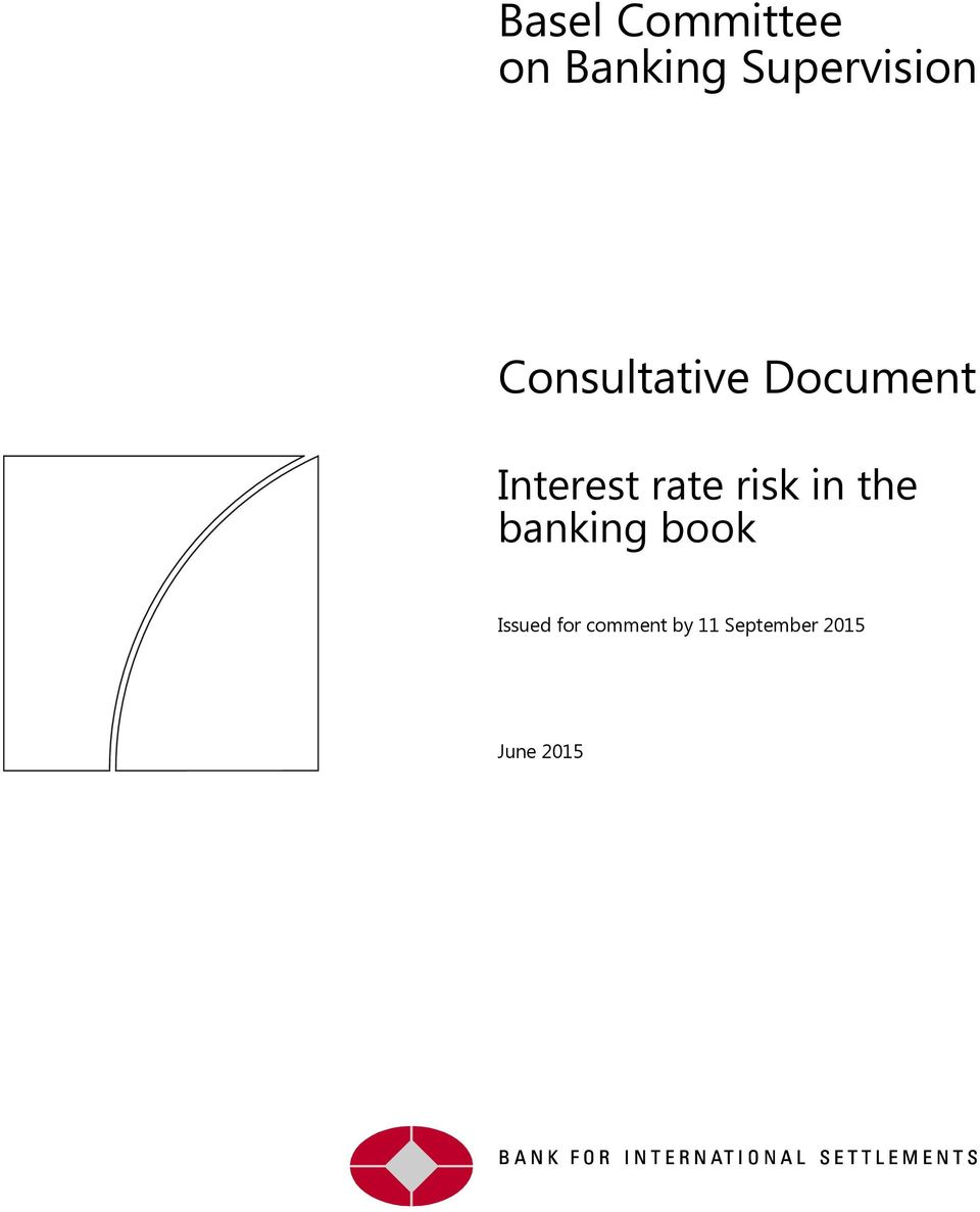 Interest rate risk in the banking
