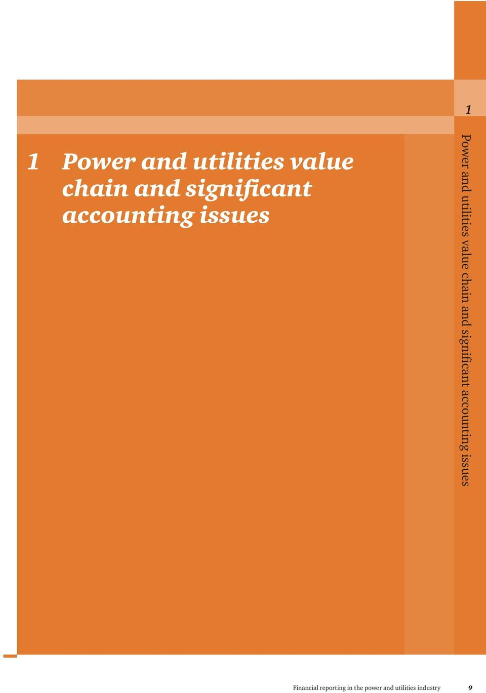 issues Power and utilities value