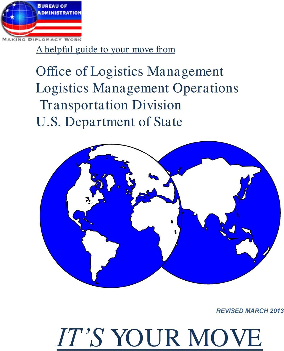 Operations Transportation Division U.S.