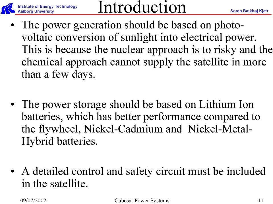 Cubesat Power Systems - PDF