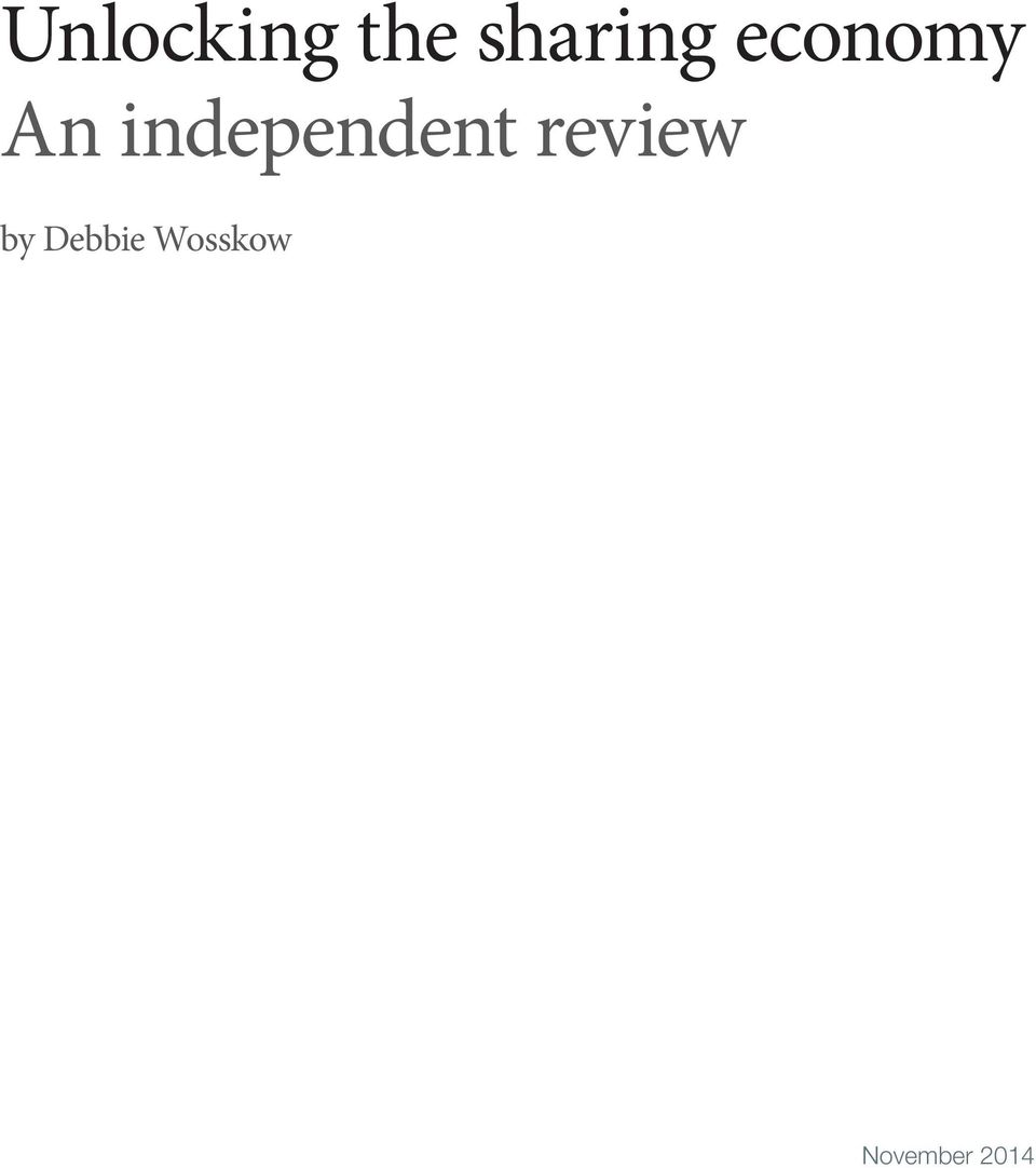 independent review