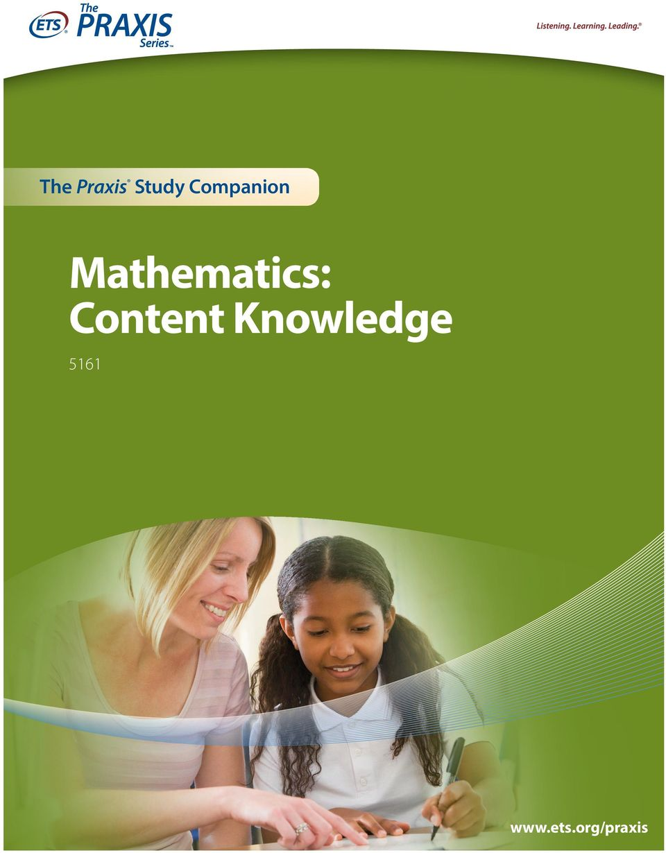 Mathematics: Content
