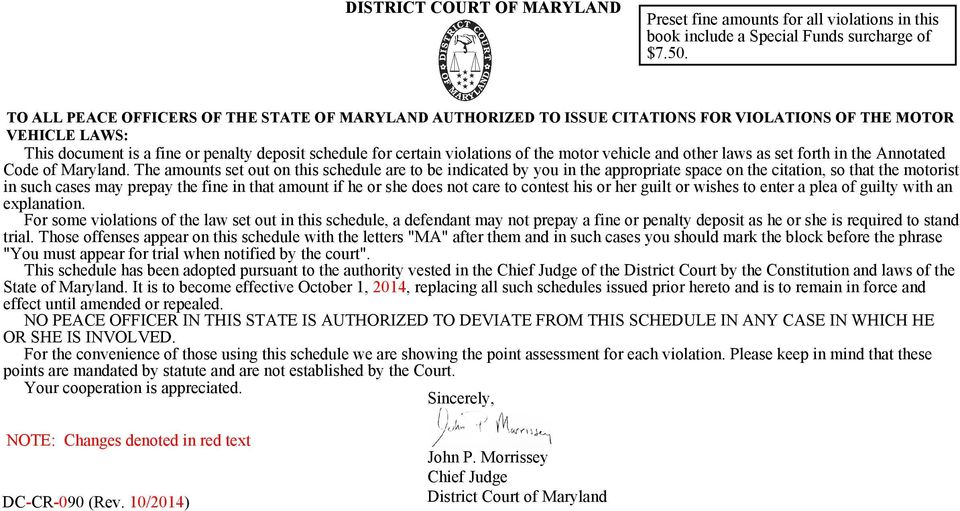 the motor vehicle and other laws as set forth in the Annotated Code of Maryland.