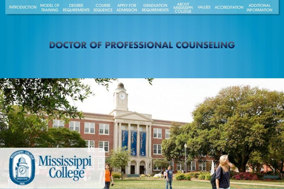 COUNSELING OF