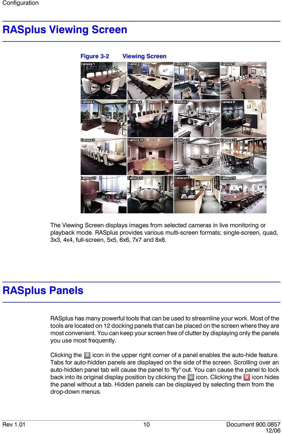 RASplus Panels RASplus has many powerful tools that can be used to streamline your work.