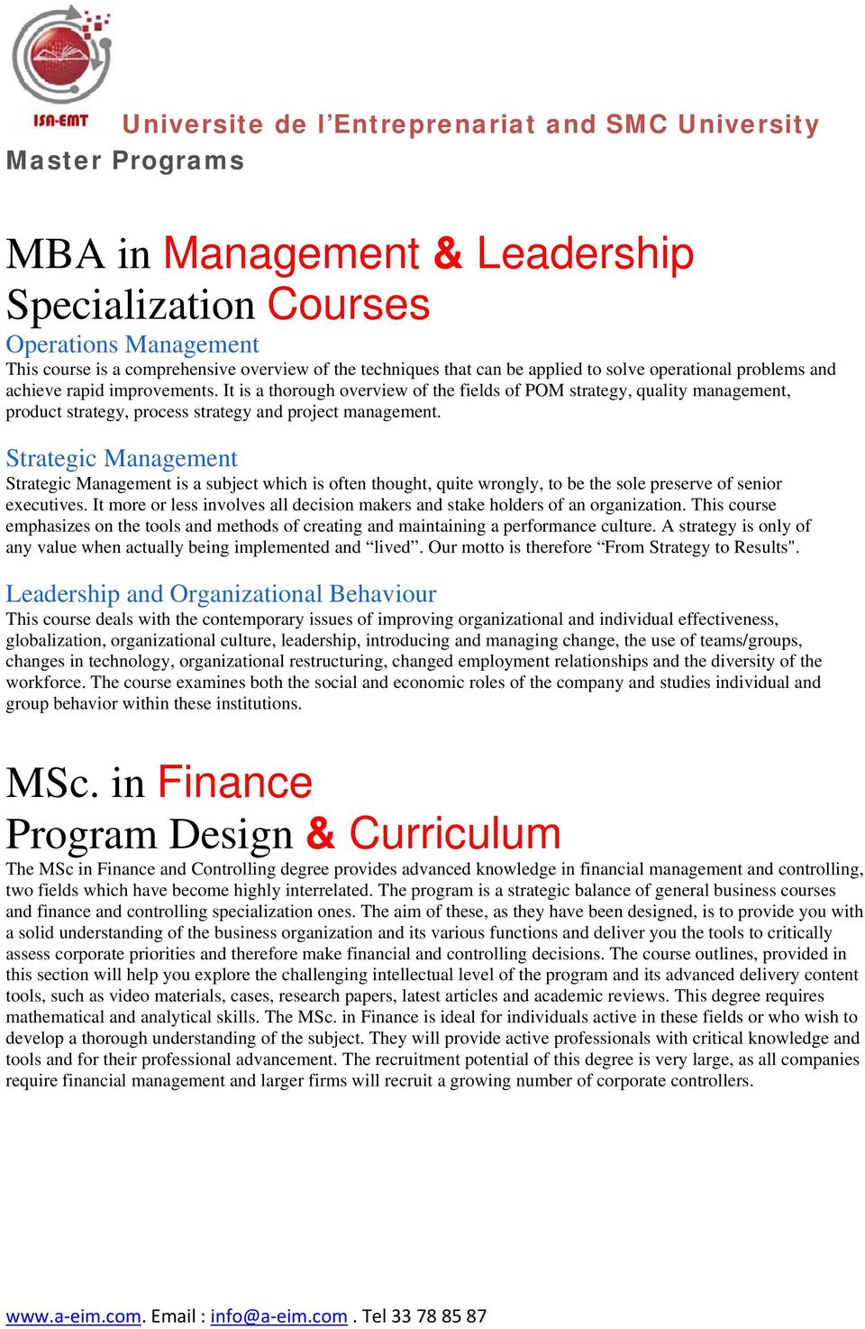 Dissertation Proposal For Mba Finance
