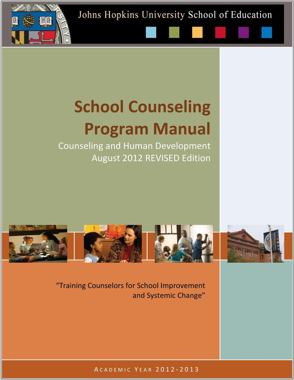 Training Counselors for School Improvement and