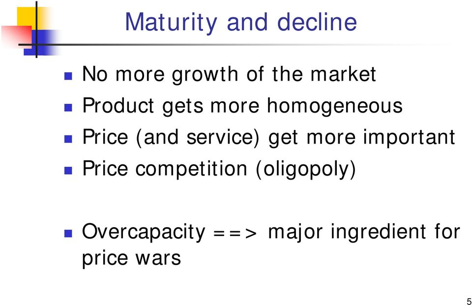 get more important Price competition (oligopoly)