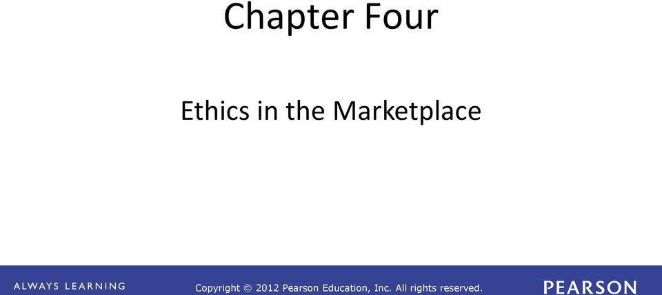 Ethics in