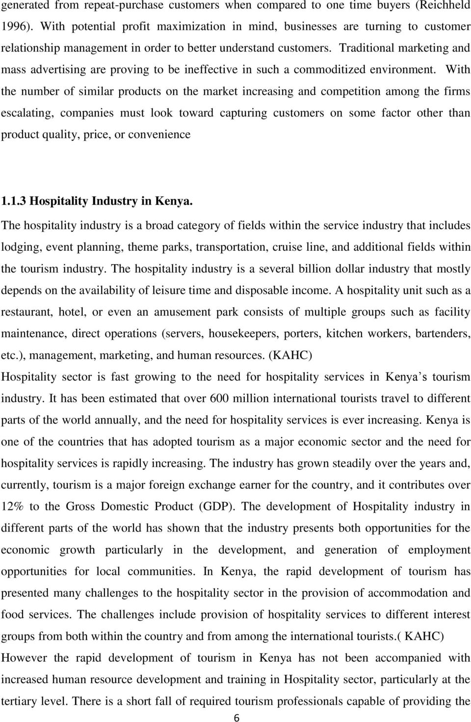 economic turndown employee human resource hospitality pdf