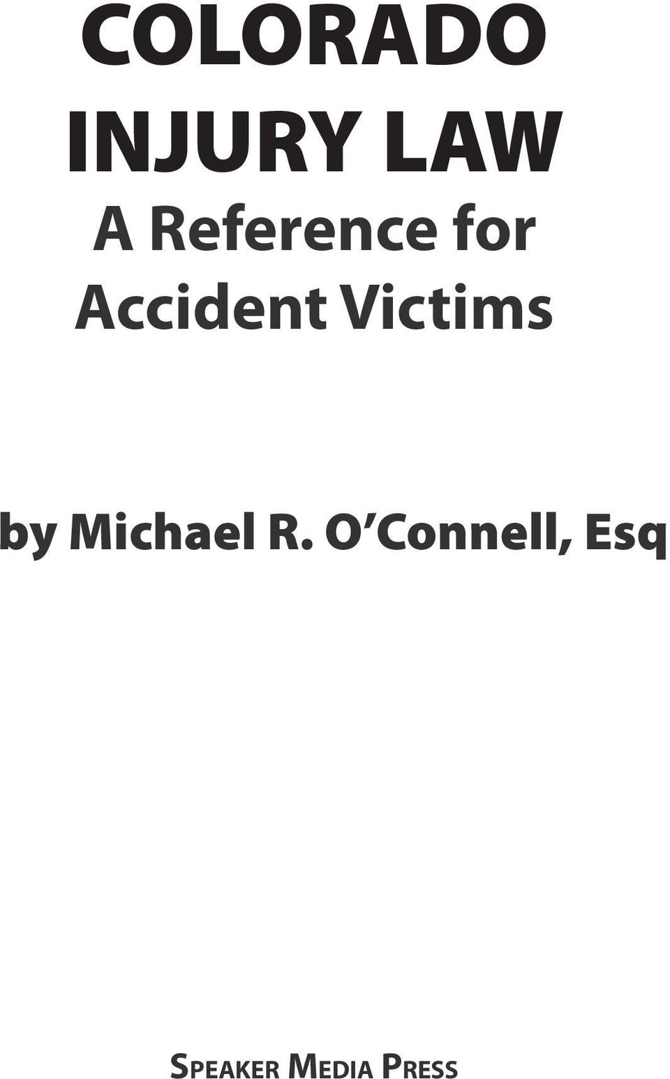 Victims by Michael R.