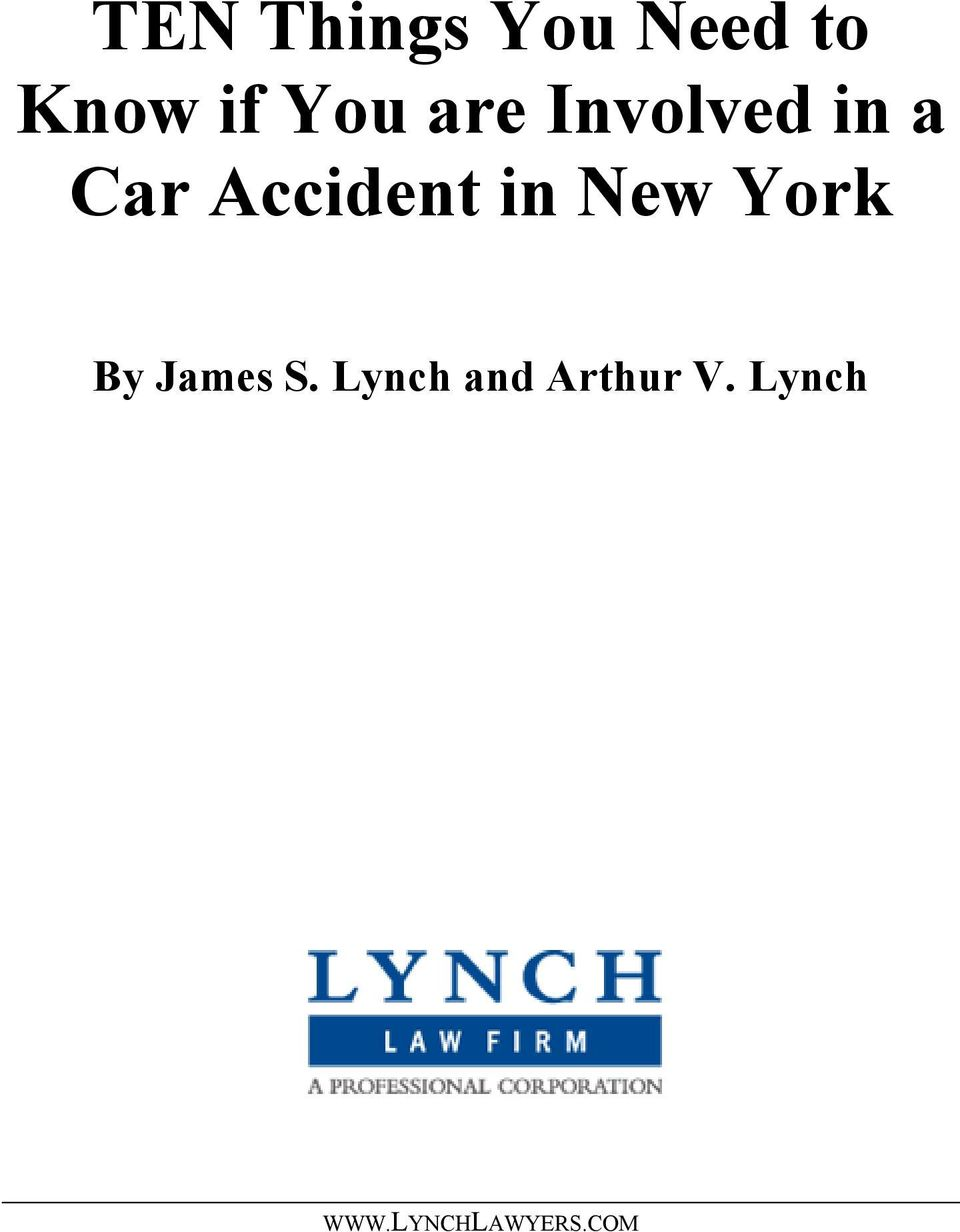 Accident in New York By James S.