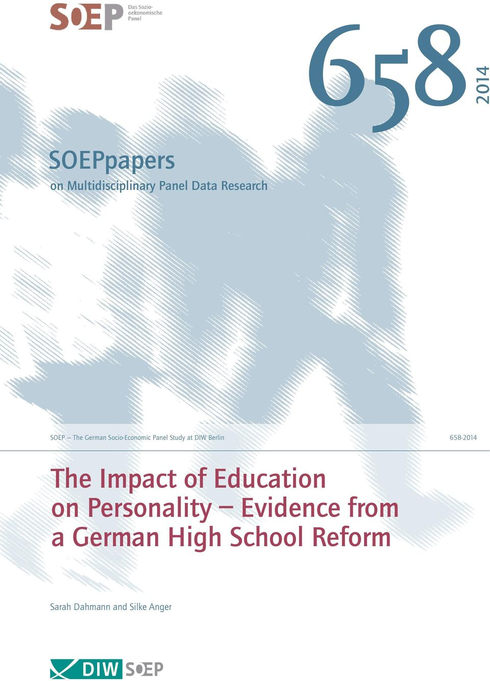 Berlin 658-2014 The Impact of Education on Personality