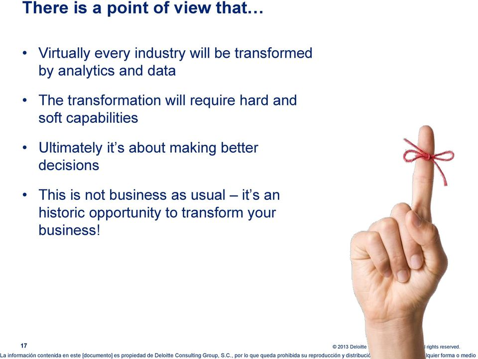 and soft capabilities Ultimately it s about making better decisions This