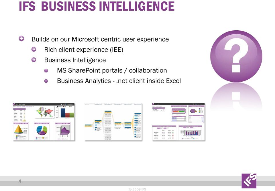Business Intelligence MS SharePoint portals /
