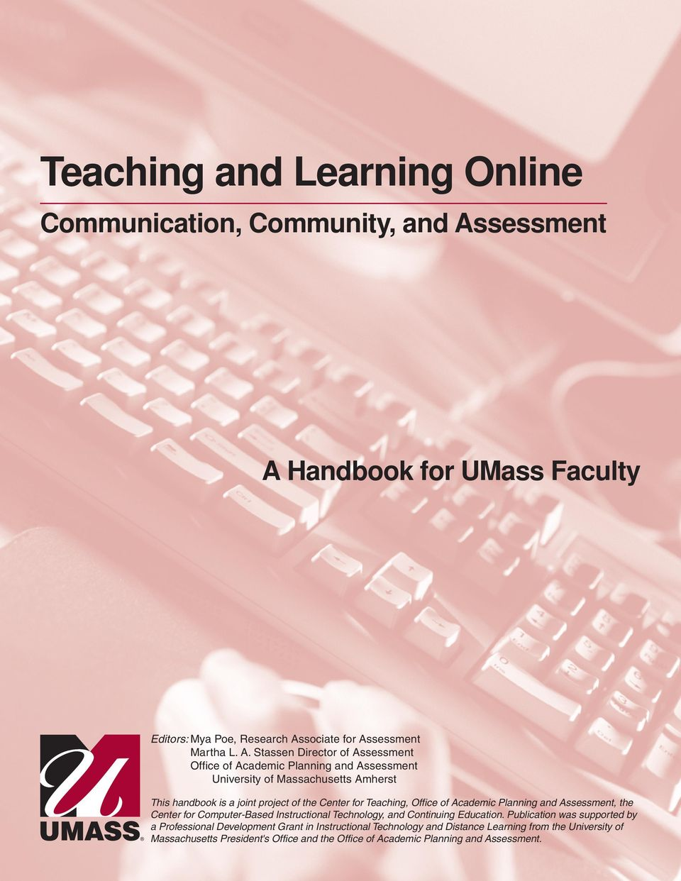 Handbook for UMass Faculty Editors: Mya Poe, Research As
