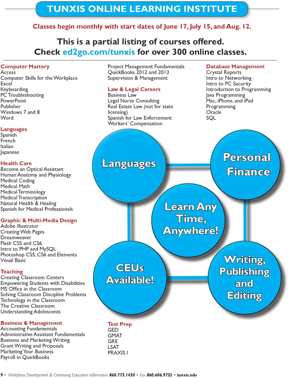 Computer Mastery Access Computer Skills for the Workplace Excel Keyboarding PC Troubleshooting PowerPoint Publisher Windows 7 and 8 Word Languages Spanish French Italian Japanese Health Care Become