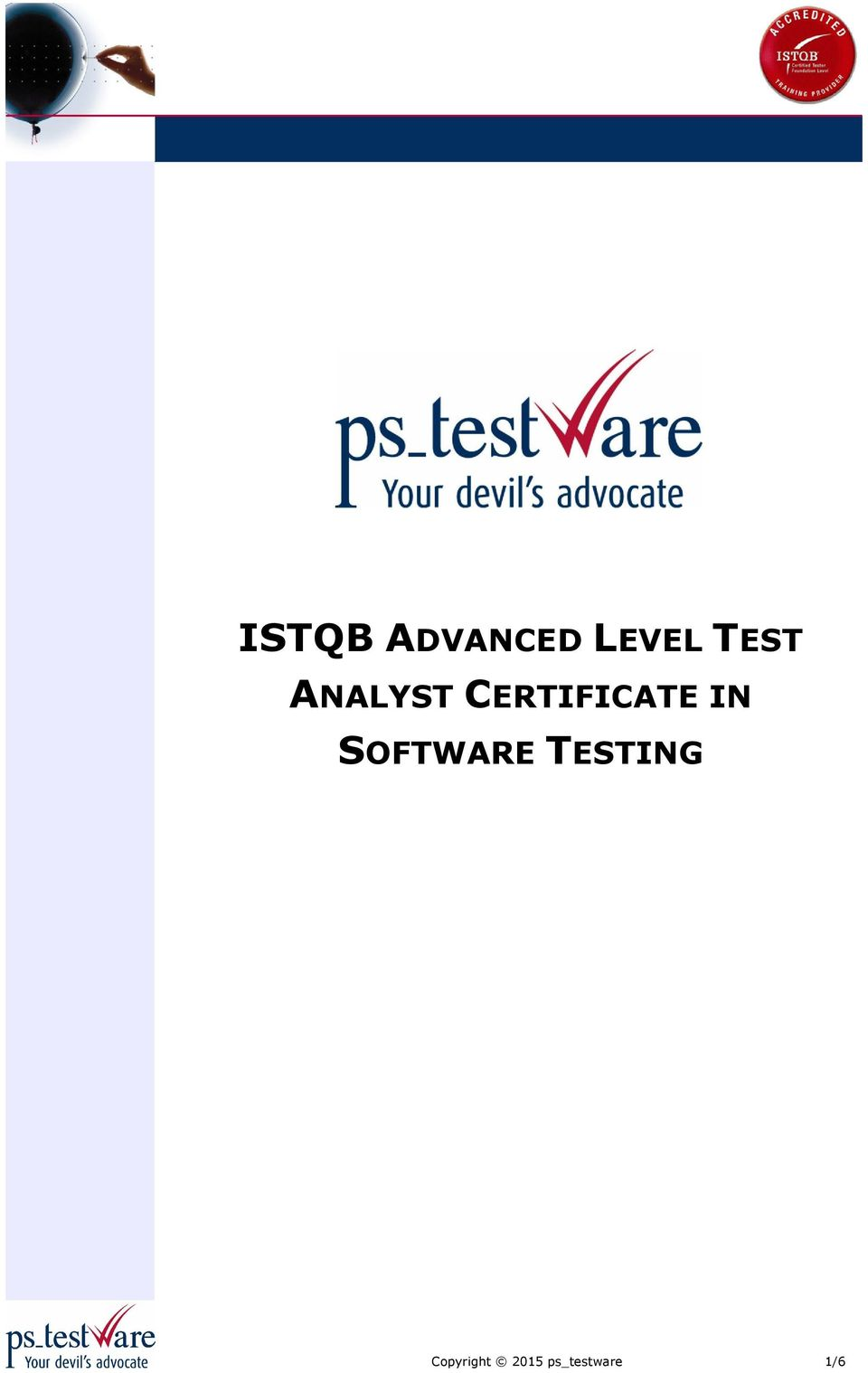 CERTIFICATE IN SOFTWARE
